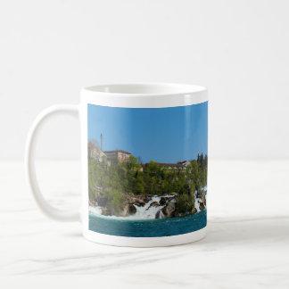 Panoramic view of the Rhine Fall Coffee Mug