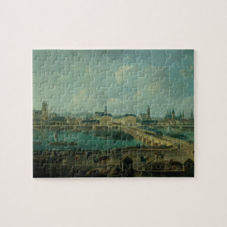 Panoramic View of Tours, 1787 (oil on canvas) Puzzle