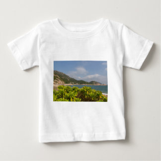 Panoramic view of Tung O Village Lamma Island Baby T-Shirt