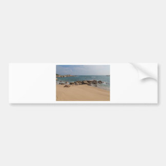 Panoramic view of Tung O Village Lamma Island Bumper Sticker
