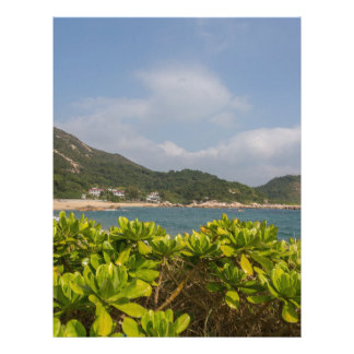 Panoramic view of Tung O Village Lamma Island Letterhead