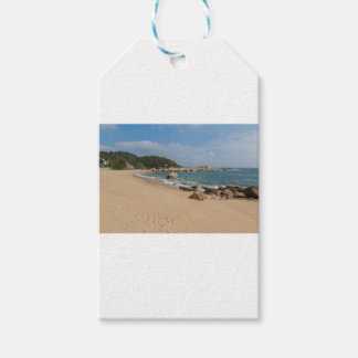 Panoramic view of Tung O Village Lamma Island Pack Of Gift Tags