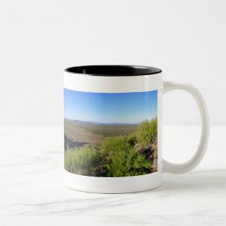 Panoramic View Two-Tone Coffee Mug