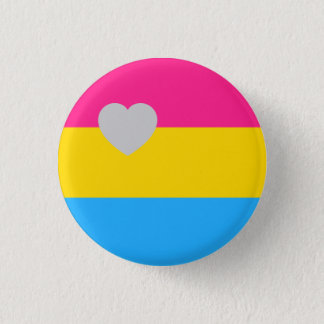 Panromantic Flag 1 Inch Round Button