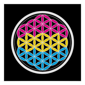 panSacred geometry Poster