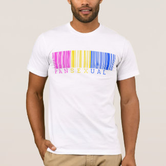 Pansexual Barcode T-Shirt