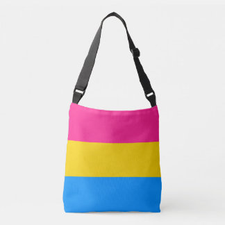 Pansexual Flag Crossbody Bag