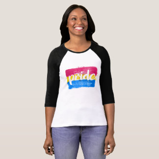 PANSEXUAL PRIDE CALLIGRAPHY - PAINTED PANSEXUAL PR T-Shirt