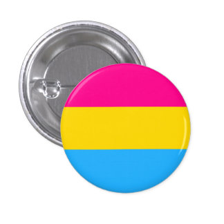 """PANSEXUAL PRIDE FLAG"" 1.25-inch 1 Inch Round Button"