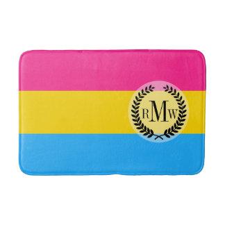 Pansexual Pride flag Bath Mat