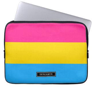 Pansexual Pride flag Computer Sleeve
