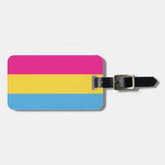 Pansexual | Pride Flag Design | Stripes | Luggage Tag