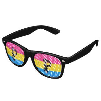 Pansexual Pride Flag Retro Sunglasses