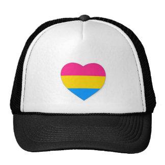 Pansexual pride hat