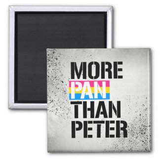 Pansexuality - More Pan Than Peter - - LGBTQ Right Magnet