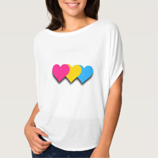 Pansexuality pride hearts Top