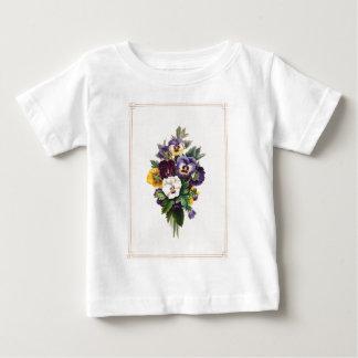 Pansies Baby T-Shirt