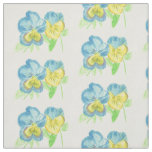 Pansies Fabric