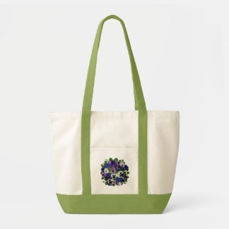 Pansies Impulse Tote