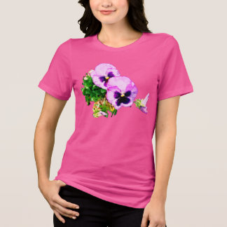pansies with butterfly17 T-Shirt