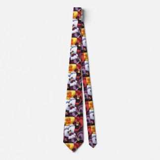 """""""Pansy 2"""" Flower Garden Neck Tie"""