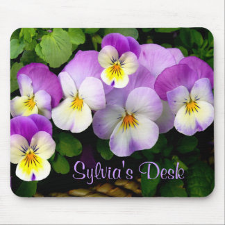 PANSY BASKET ~ Mousepad