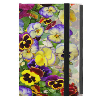Pansy Cascade ~ iPad Mini Case