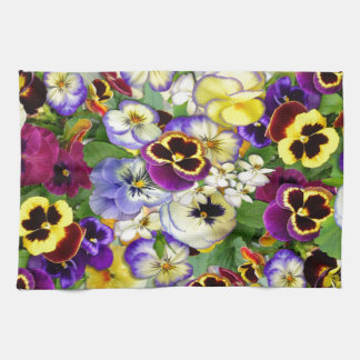 Pansy Cascade Kitchen Towel