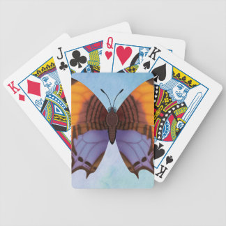Pansy Daggerwing Butterfly Bicycle Playing Cards