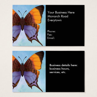 Pansy Daggerwing Butterfly Business Card