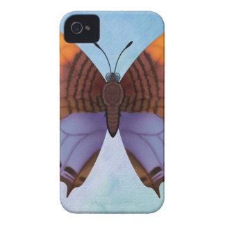 Pansy Daggerwing Butterfly iPhone 4 Case-Mate Cases
