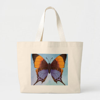 Pansy Daggerwing Butterfly Large Tote Bag