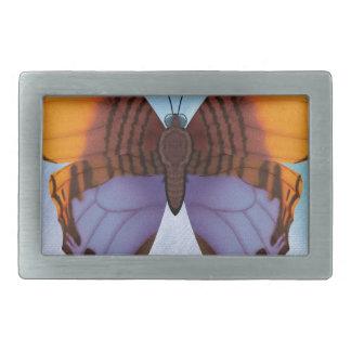 Pansy Daggerwing Butterfly Rectangular Belt Buckle