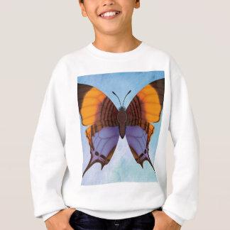 Pansy Daggerwing Butterfly Sweatshirt