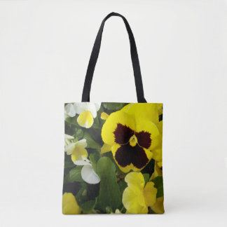 Pansy_Delights_Full_Print_Shopping_Bag Tote Bag