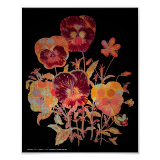 Pansy Exotica 8x10 Poster