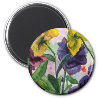 Pansy Field Magnet