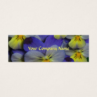 Pansy Floral Business Card