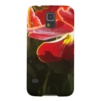 Pansy flowers galaxy s5 case