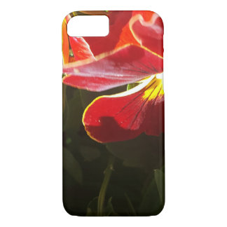 Pansy flowers iPhone 8/7 case
