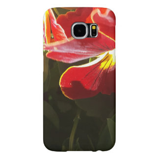 Pansy flowers samsung galaxy s6 cases