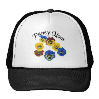 Pansy Lions 1 Trucker Hat