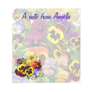 Pansy Notepad