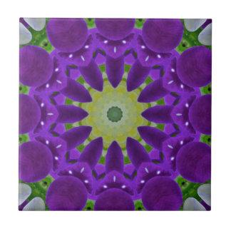 Pansy, Pansies Nature, Flower-Mandala Ceramic Tiles
