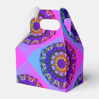 Pansy, Pansies Nature, Flower-Mandala Favor Box