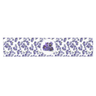 Pansy Table Runner - No Text