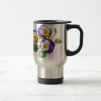 pansy travel mug