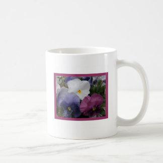 Pansy Trio Coffee Mug