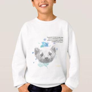 Pantalaimon, Lyra's Daemon from His Dark Materials Sweatshirt