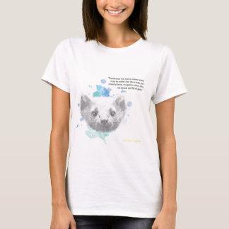 Pantalaimon, Lyra's Daemon from His Dark Materials T-Shirt